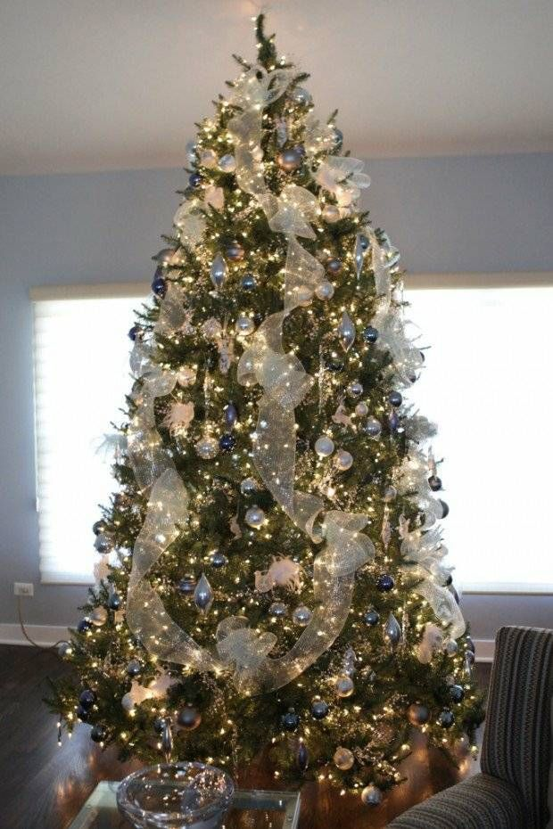 deco elegante sapin Noel moderne | Christmas tree decorating tips
