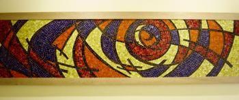 Mosaico Cuadro Abstracto