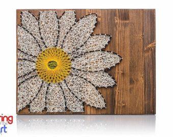 Kit de arte de cuerda de mariposa - arte de cuerda DIY, decoración de mariposa, mariposa monarca, manualidades de mariposa, decoración casera hecha a mano, kit de bricolaje, regalo de Navidad