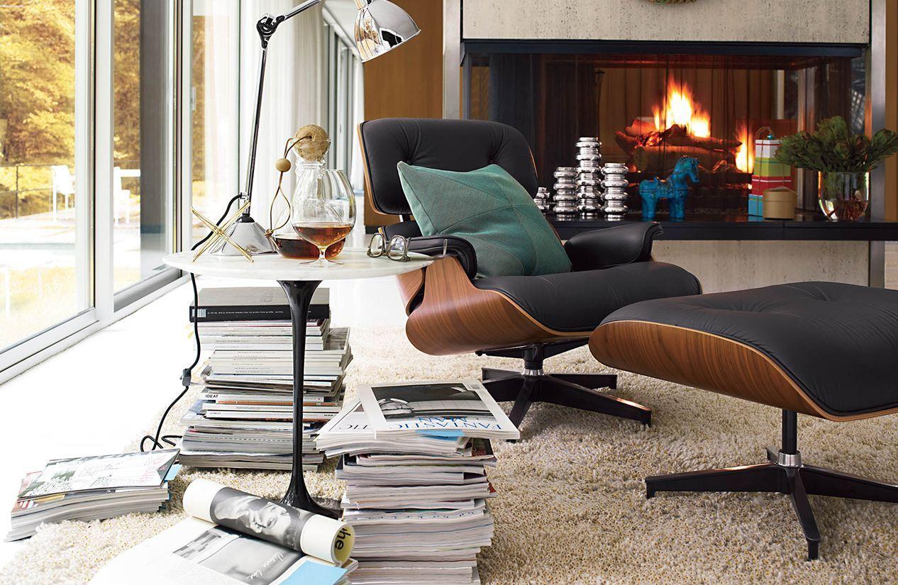 Saarinen Side Table Design Within Reach Eames Lounge Chair Eames Lounge Eames Lounge Chair Replica