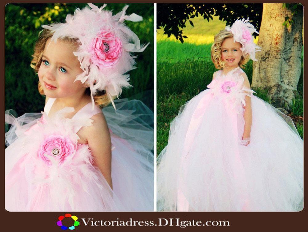 Abiti Da Ragazza Di Fiore Da Matrimonio Fascia E Bambini Si Veste Vestito Da Partito Della Ragazza Del Bambino Dess