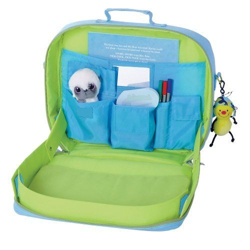 Kids TrayKit Backpack and Travel Tray BLUE by Content  19.95. This clever  2-in ddf711883c