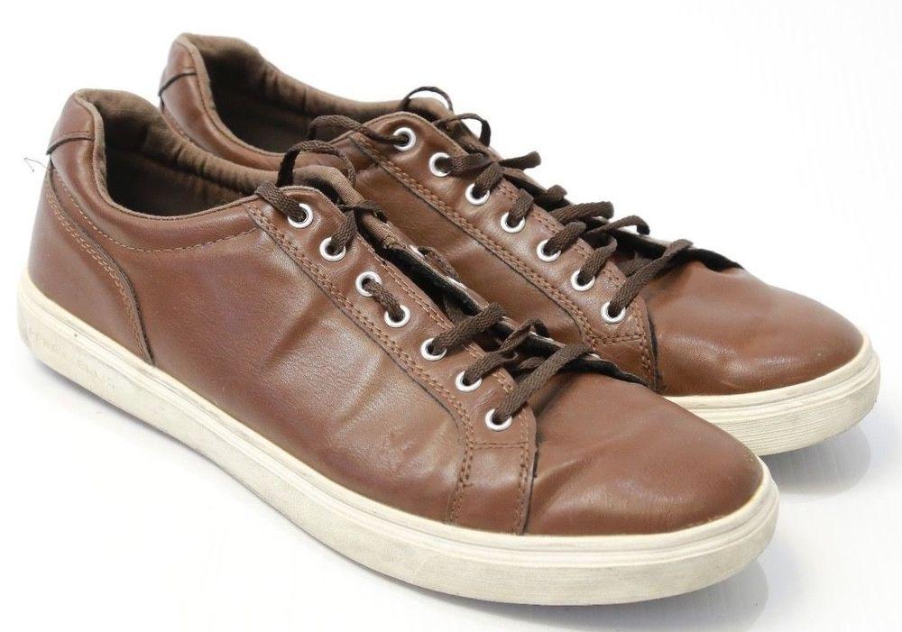 Men s Perry Ellis America Brown Lace Up Shoes Size 12  PerryEllisAmerica   FashionSneakers 33da8ef5a
