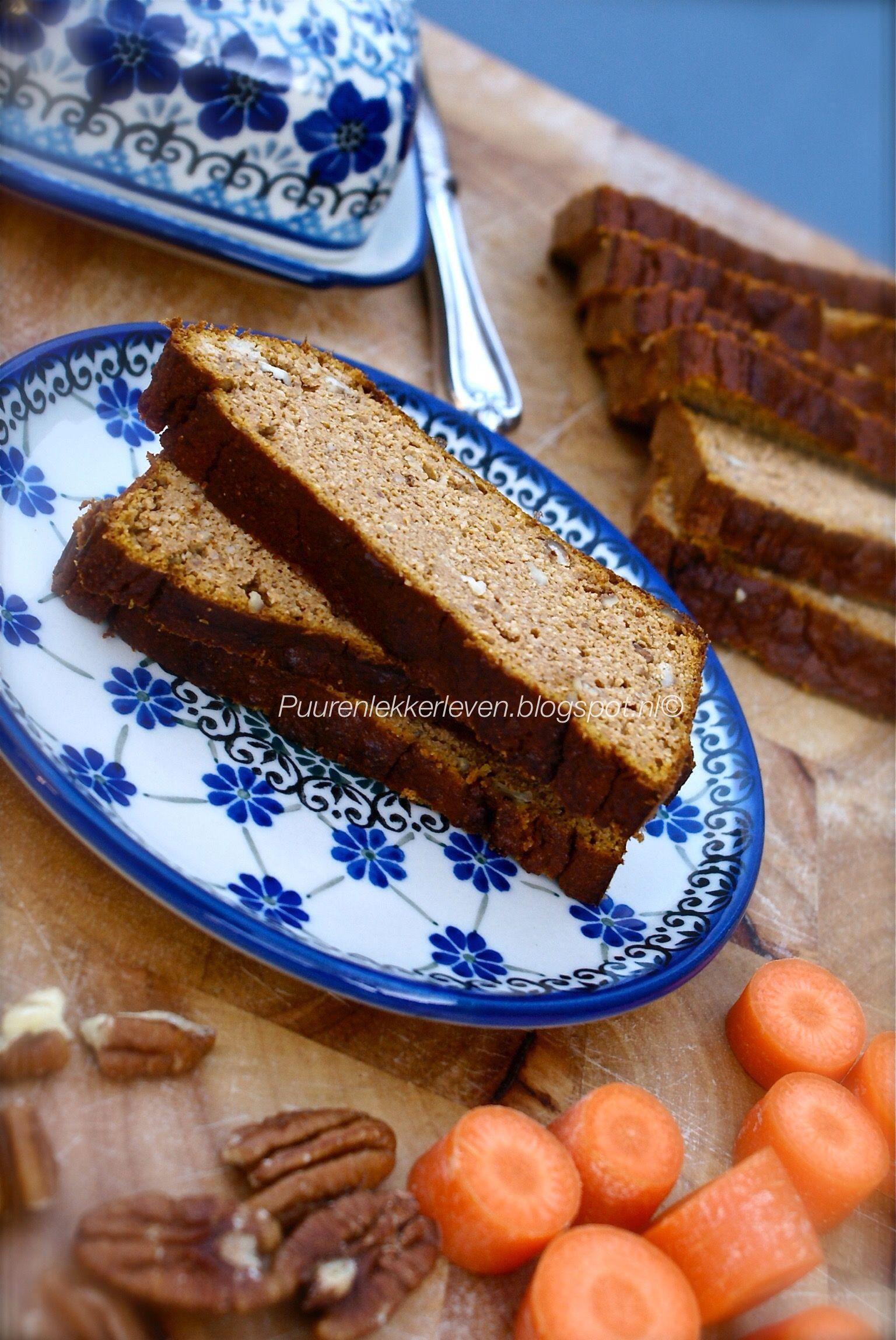Geen bananenbrood maar wat dan? #wortel #glutenvrij #koemelkvrij #suikervrij