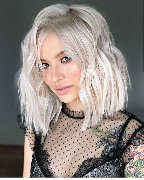 45 Famous Blonde Bob Hair Ideas In 2018 2019 Platinum Hair Color Blonde Bob Hairstyles Blonde Haircuts