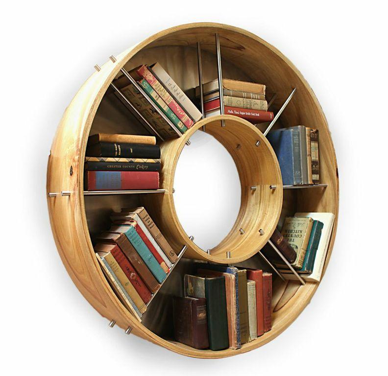 Superior Holmes Design Library Piece For Books. Great Fresh Design. Http://www.  Round BookshelfBookshelf IdeasCreative ...