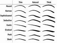 eyebrow shapes - Bing Images