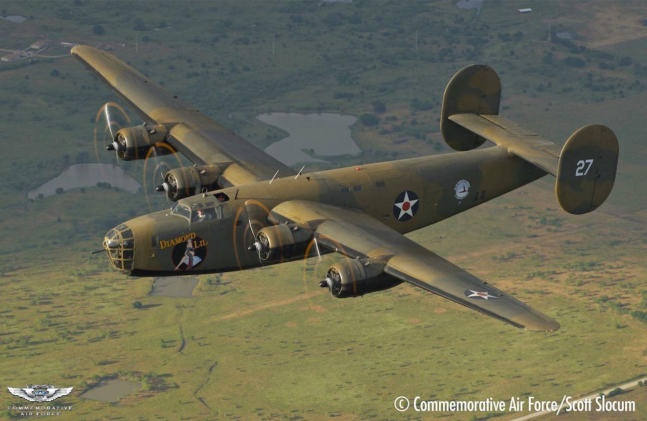 Aircraft Type Consolidated B24 Liberator Diamond Lil