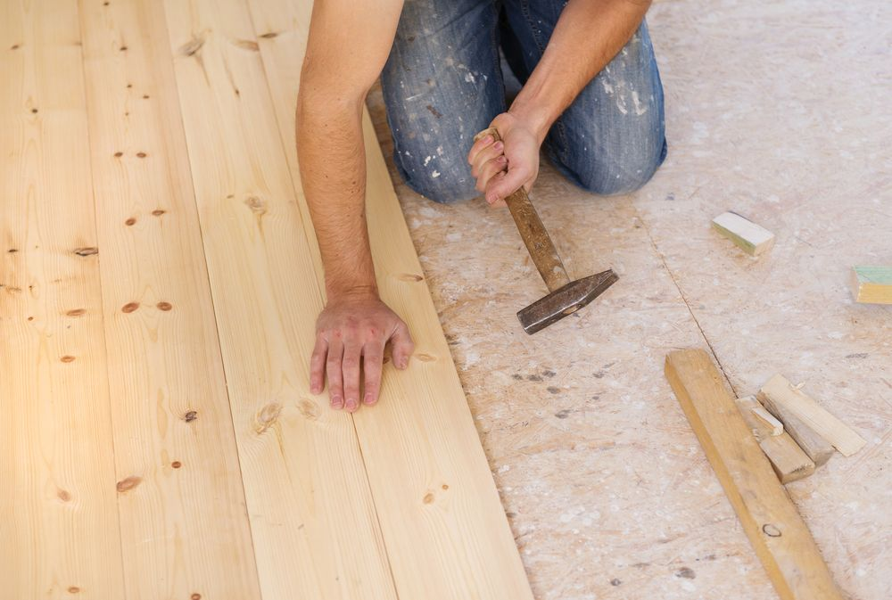 How to Repair Wooden Floorboards Decorating Warehouse | Books Worth ...