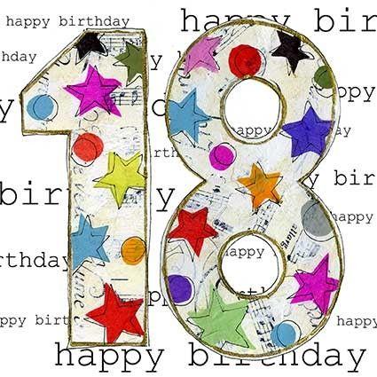 happy 18th birthday card for fb Happy 18th – Happy 18th Birthday Card