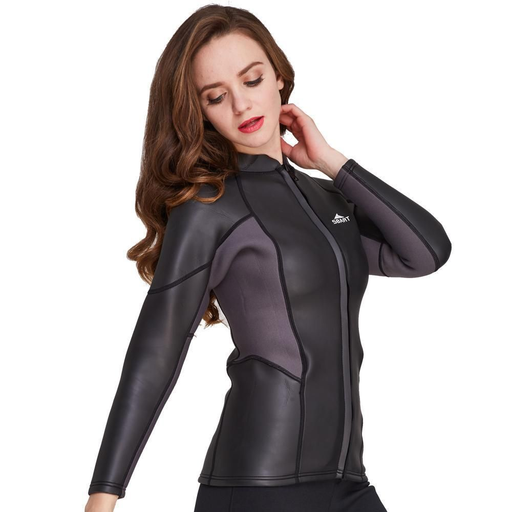 Women s Wetsuit Vest 2MM Smooth Skin Neoprene Jacket Top Surf Scuba Dive  NEW (eBay Link) 2186d7b2c