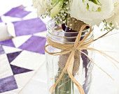 Custom made table runners for your wedding or event. After the event, they will be made into a quilt!