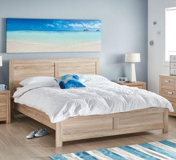 Havana Queen Bed | Fantastic Furniture | Oak bedroom ...