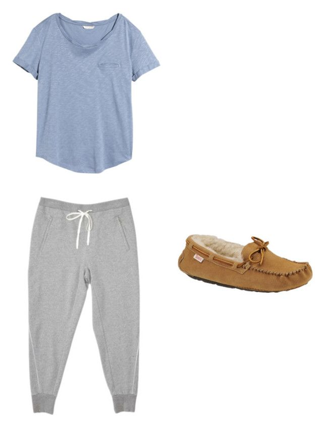 """""""Untitled #117"""" by cassidyb16 ❤ liked on Polyvore featuring Mode, H&M und Slippers International"""
