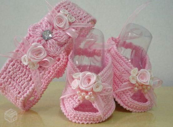 sapatinhos de bebe croche com graficos - Pesquisa Google | sapatinho ...