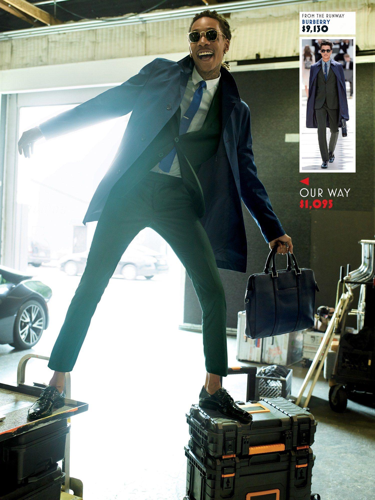 Dress Up Spend Down With Wiz Khalifa Photos Gq