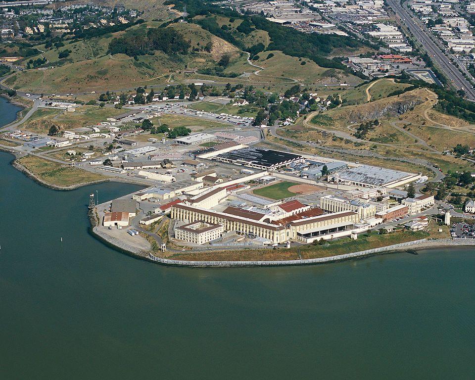 Prison d\'Etat de San Quentin, Baie de San Francisco, Californie, USA ...