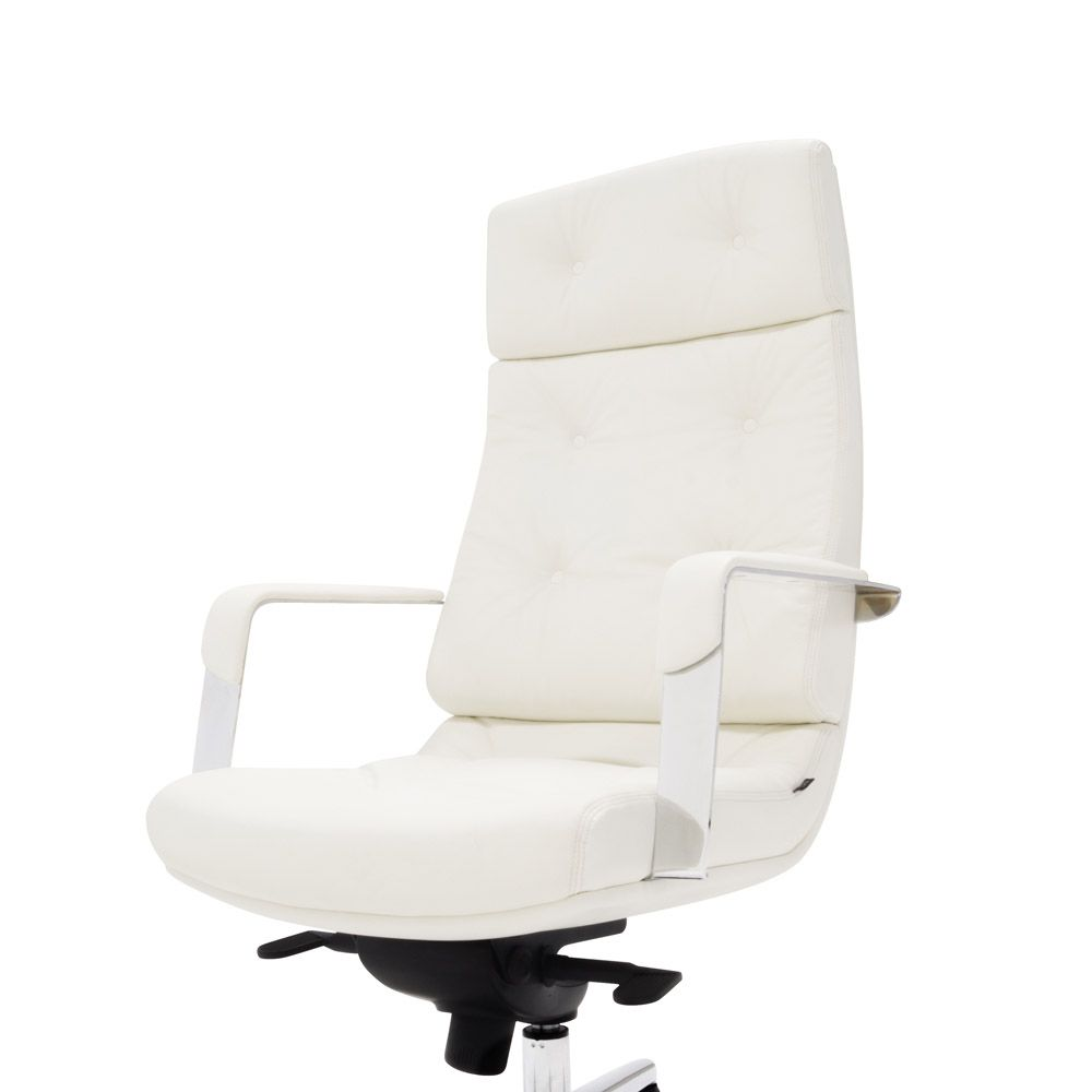 Perot Leather Executive Chair Executive Chair Chair Contemporary Office