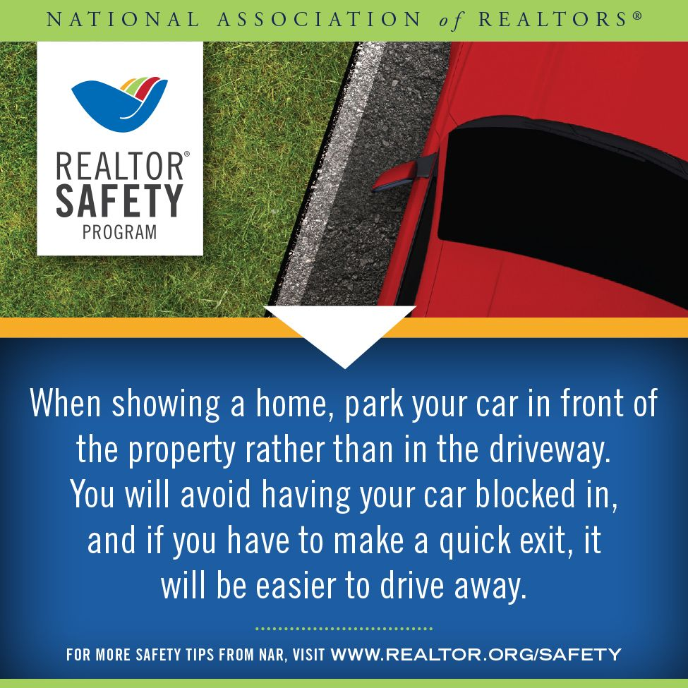 This week's RealtorSafety tip addresses some showing