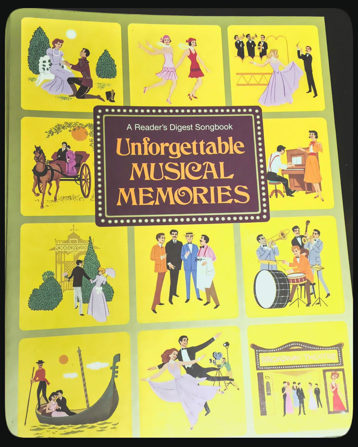 MUSICAL MEMORIES Music Book Songs of Forever