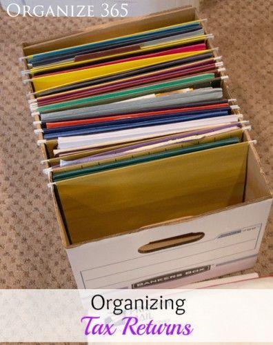 file box idea till he gets his cabinet