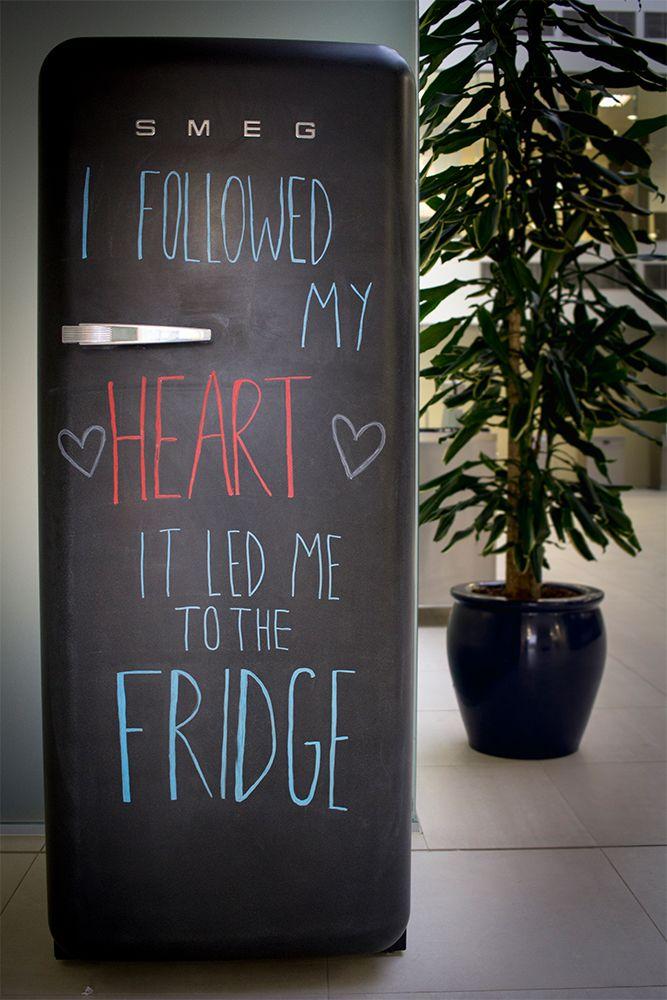 Smeg Deutschland chalkboard fridge by smeg italy kitchen bucatarii