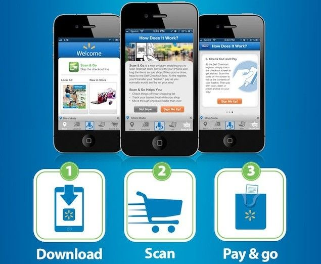 Walmart 'Scan & Go' iPhone checkout expanding into new