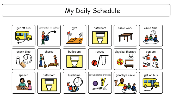 Visual Schedules Why And How To Use Visual Schedules Visual Schedule Autism Visual Schedule Printable