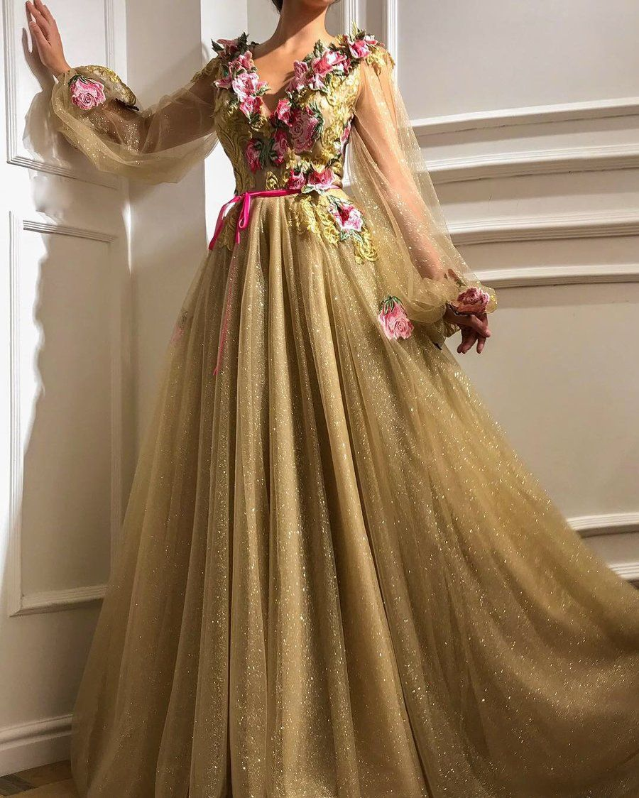 Rosy Princess TMD Gown