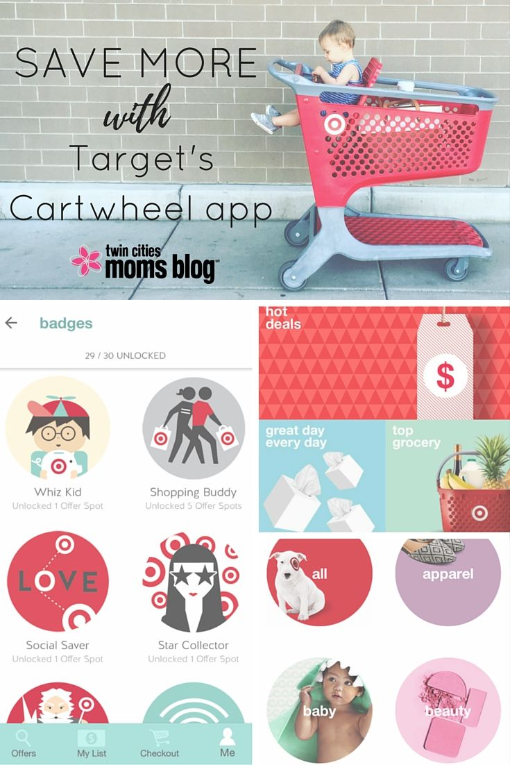 A Mom's Guide to Target's Cartwheel App Kids shop