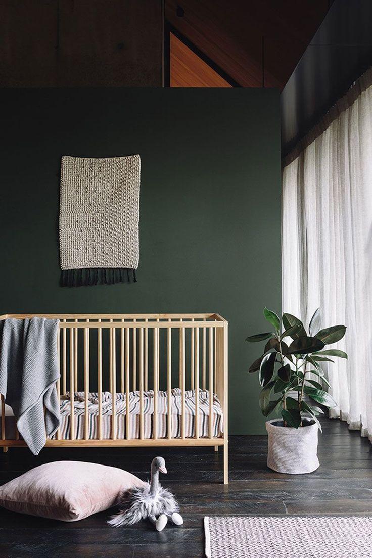 Une Chambre Enfant Kaki Pour Un Univers Doux Chambre Bebe Vert