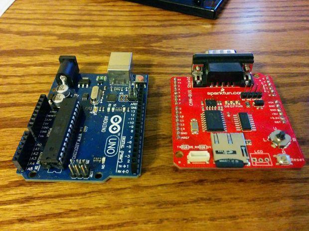 Arduino can своими руками 92