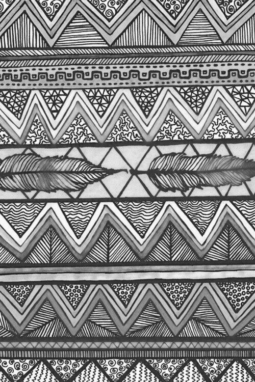 Black And White Aztec Patterns Tumblr Google Search