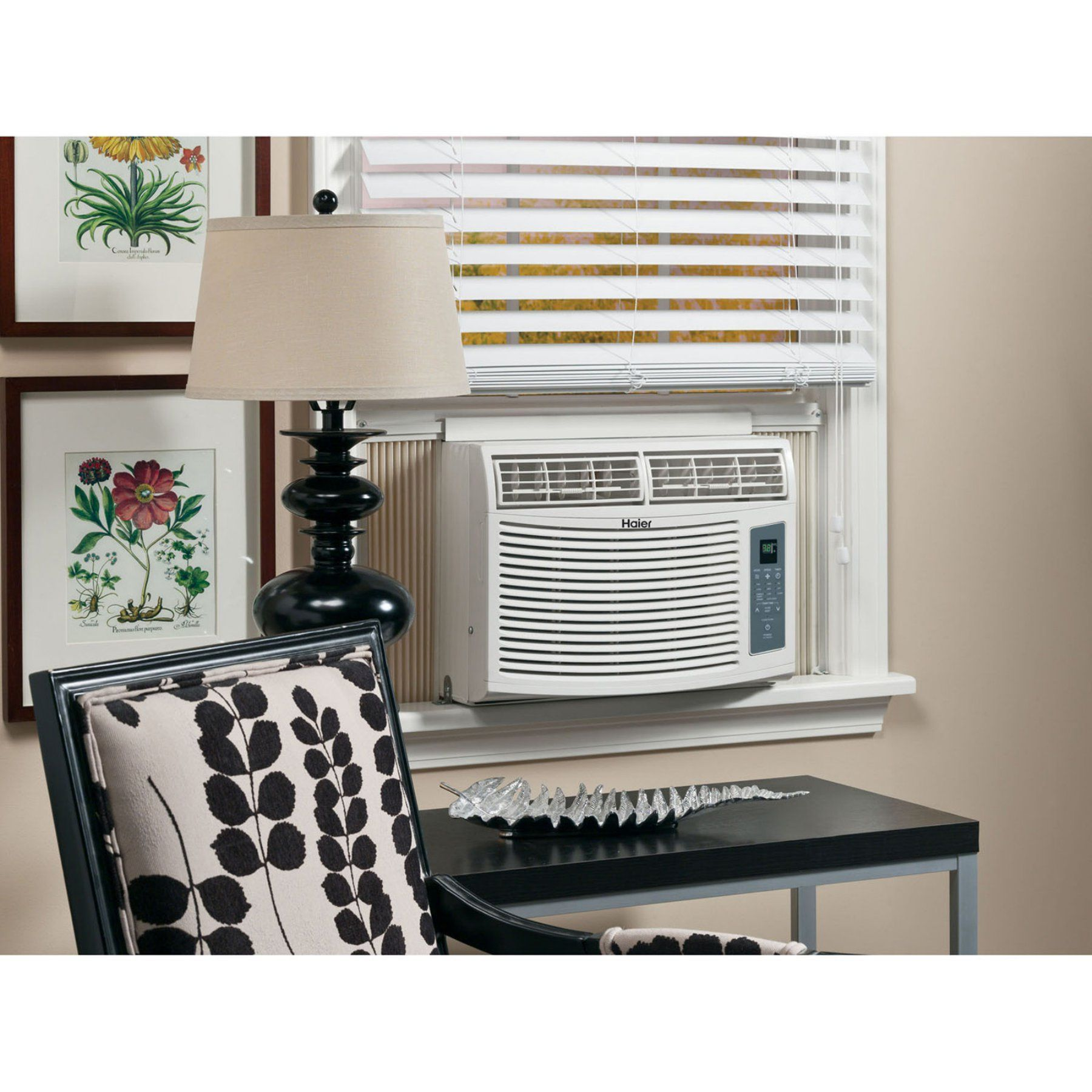 Haier HWE08XCR 8000 BTU WindowMounted Air Conditioner