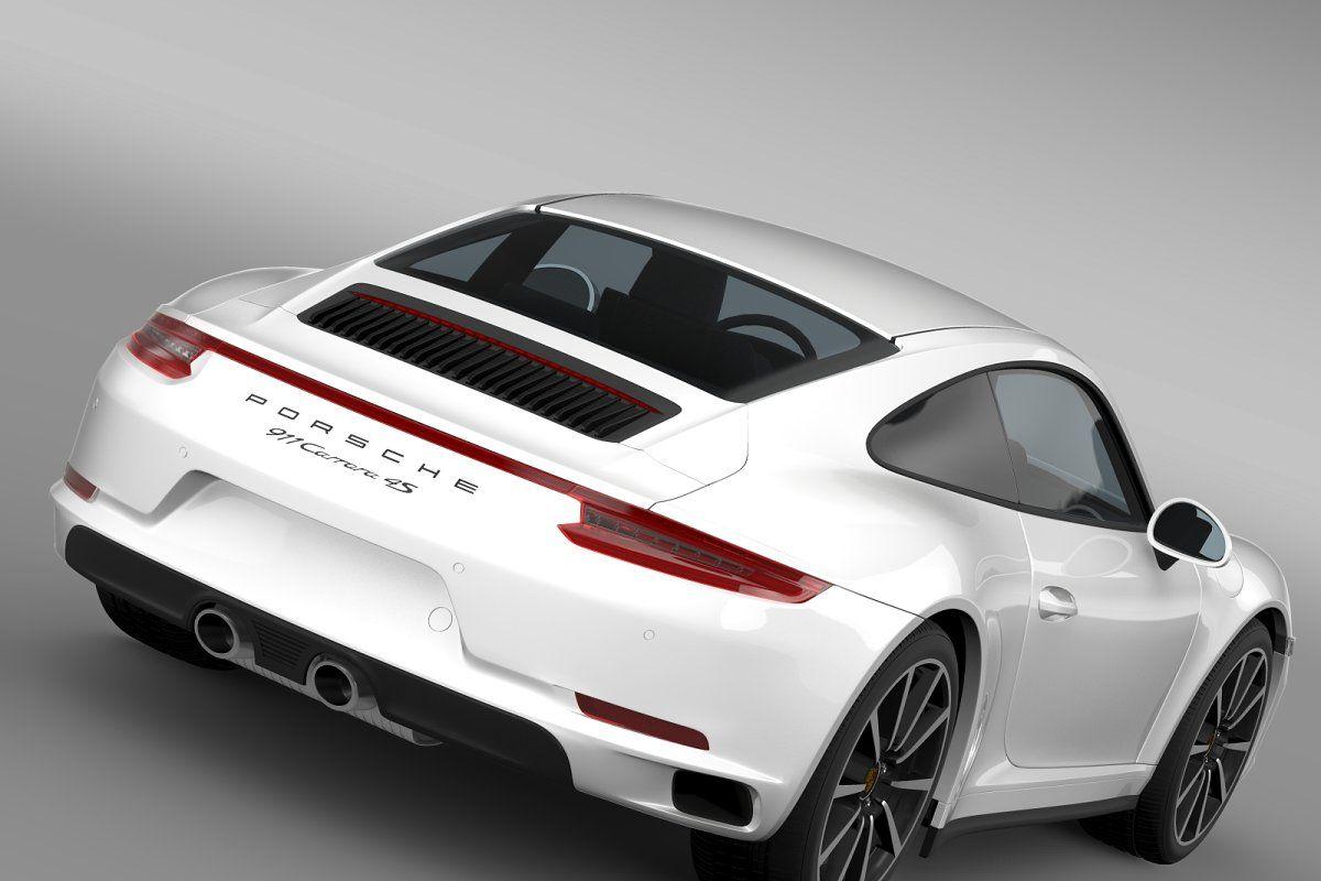 Porsche 911 Carrera 4scoupe 991 2016