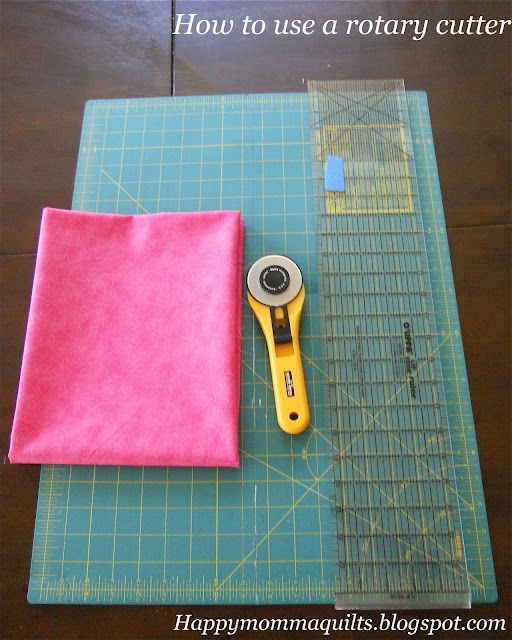 Happy Momma Quilts: Rotary Cutter Tutorial