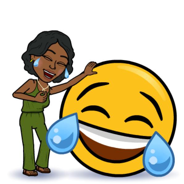 LAUGHING Bitmoji | Digital Avatar Reference | Laughing emoji