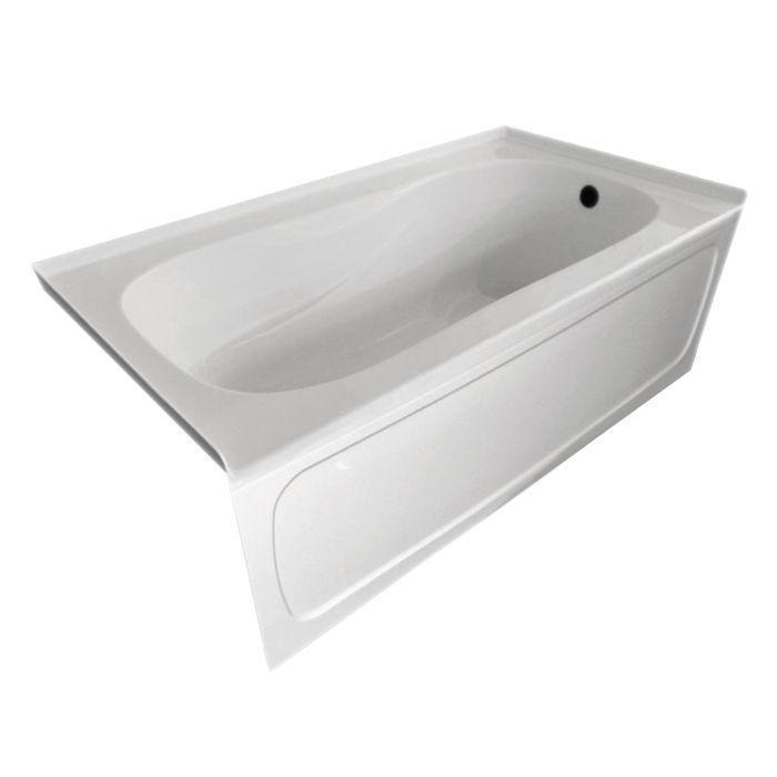 Sol 60x32 Skirted Tub With Left Hand Drain | Bathroom Ideas ...
