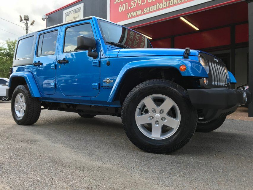 Used 2014 Jeep Wrangler 4WD Unlimited Sport in Hattiesburg