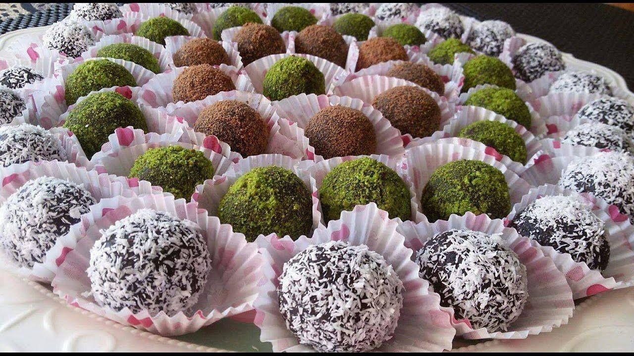 كرات الشوكولاته راس العبد سهلة التحضير طيبة ولذيذة جربوها Chocolate Easy Chocolate Desserts Chocolate Balls Recipe Chocolate Desserts