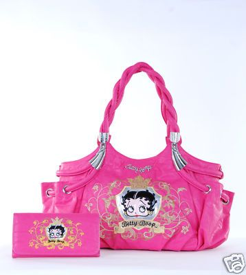 Betty Boop Purse Wallet Set Princess