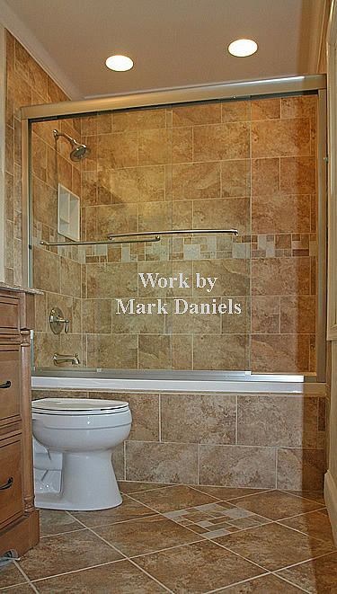 Whats The Best Way To Give Our Shower A HighEnd Look Tile - Find bathroom contractor for small bathroom ideas