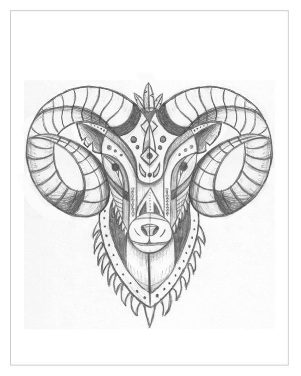1000 Ideas About Ram Tattoo On Pinterest Aries Zodiac Tattoos Ram Tattoo Aries Tattoo Aries Ram Tattoo
