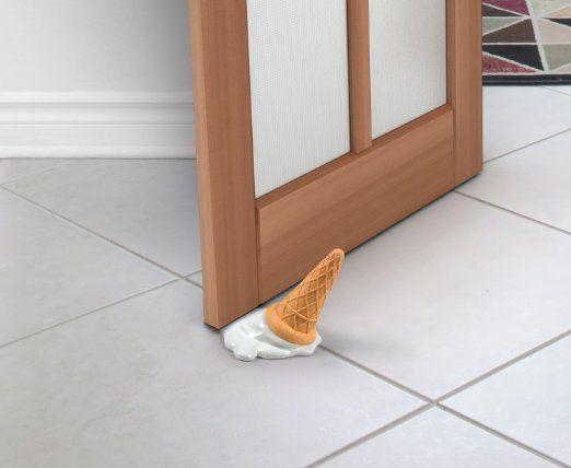 Ice Cream Door Stop Brand Doorstop Novelty Door Stopper Home Decor & Amazon.com - Fred and Friends SCOOPS! Ice Cream Doorstop - Door ...