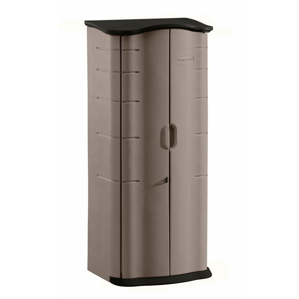 Rubbermaid 2 Ft X 2 Ft Vertical Storage Shed 2035894 Plastic