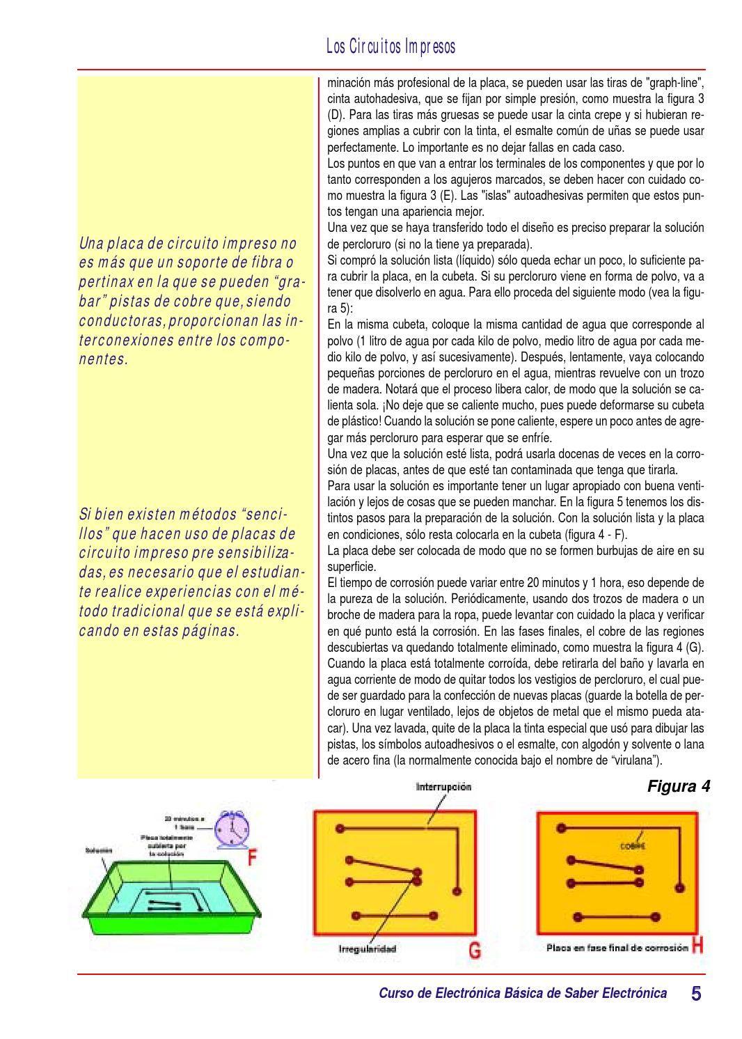 Tomo 2 Placa De Circuito Impreso Circuitos Impresos Circuitos