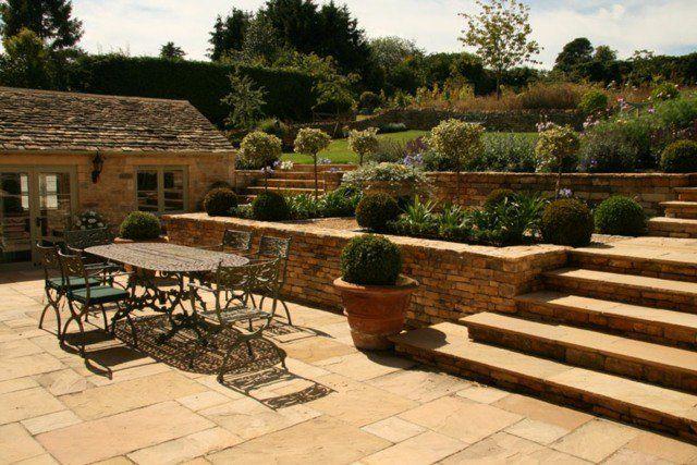 Jardin en pente : 33 idées daménagement végétal