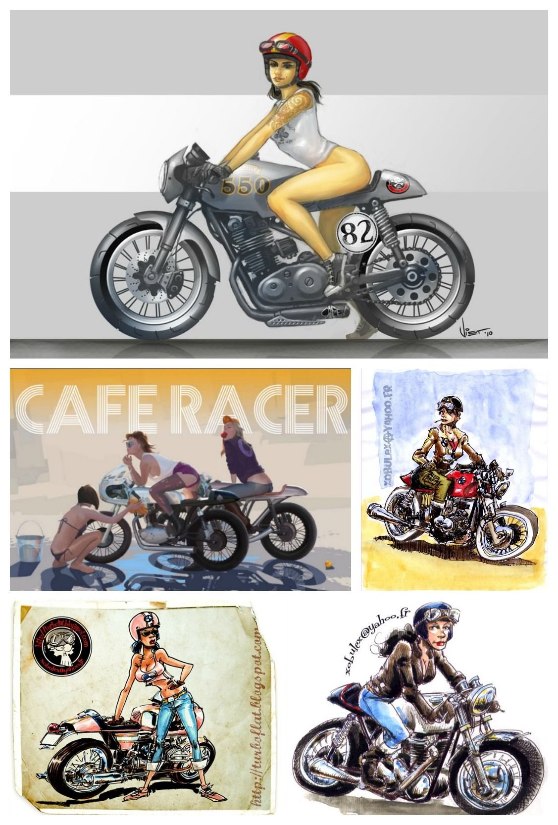 How To Build A Cafe Racer With Images Cafe Racer Cafe Racer