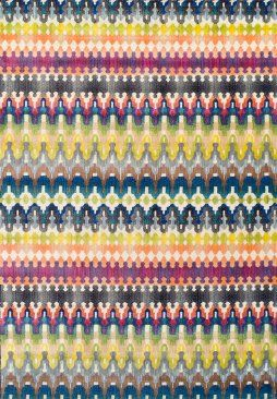 R1379 Polypropylene Concepts Rug Yellow Area Rugs