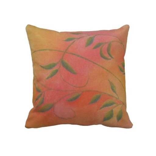 Leafy Vines Pillow by Naomi Ball $59.95